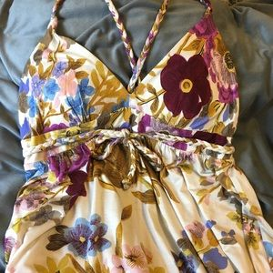 Tracy Reese Floral Dress Sz L